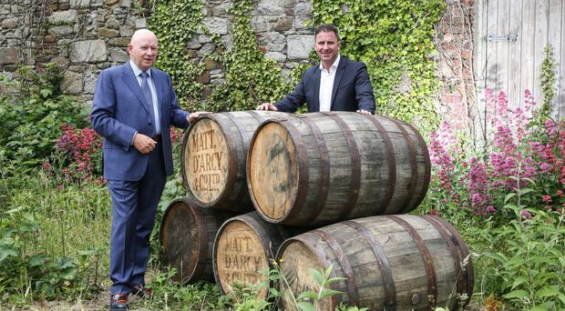 Michael McKeown, owner and investor of Matthew D'Arcy & Company with Andrew Cowan, Chief Executive, Matt D'Arcy & Company
