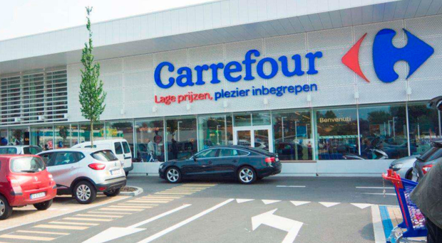Retail alliance: Carrefour has joined forces with Tesco in a purchasing deal