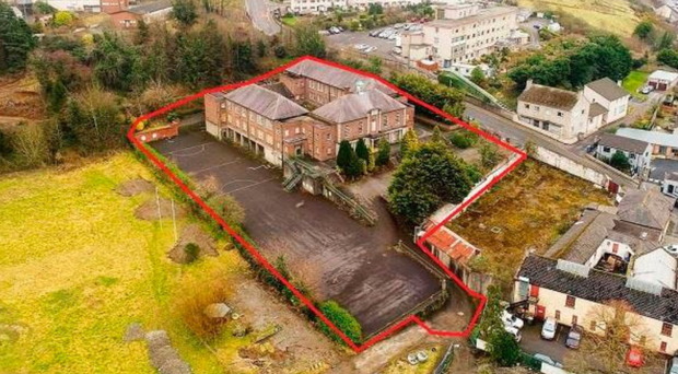The former St Colman's Abbey is next to a proposed health hub