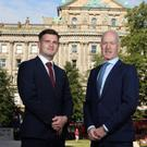 GIA partner Kevin Francis with Alan Wilson of Invest NI