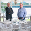 Darren Ward of First Trust Bank with Darren Johnston of the Rossharbour Resort