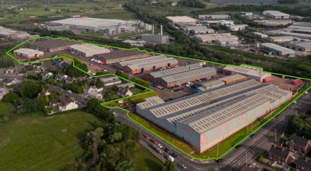 The Knockmore industrial estate near Lisburn