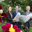 Estate duty manager Bernie Hyland, David Wilson MD of Montalto Estate, and John McGrillen, chief executive Tourism NI