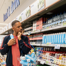 Will Smith launches Just Water in a UK Boots store