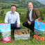 Glens of Antrim Crisps sales director Michael McKillop (left) with Invest NI's John Hood