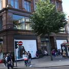 Work is continuing to extend Primark store in Belfast