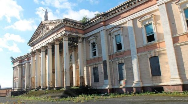 The former Crumlin Road Courthouse, which could be turned into a hotel