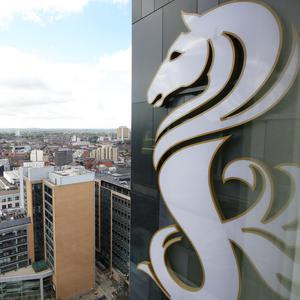 Looking out across Belfast from one of the city's newest hotels, the Grand Central