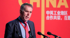 David Sterling, head of the NI Civil Service, is in China