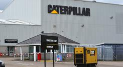 Caterpillar's Northern Ireland workforce has been dropping year-on-year