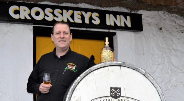 Vincent Hurl is launching his own brand of Irish whiskey