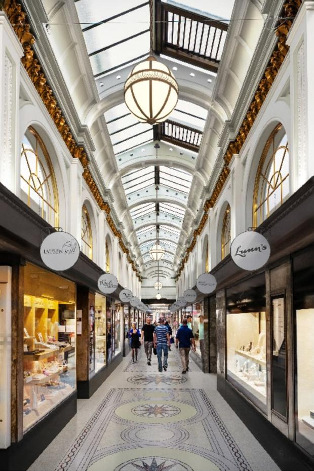 Artist's impression of how Queens Arcade will look