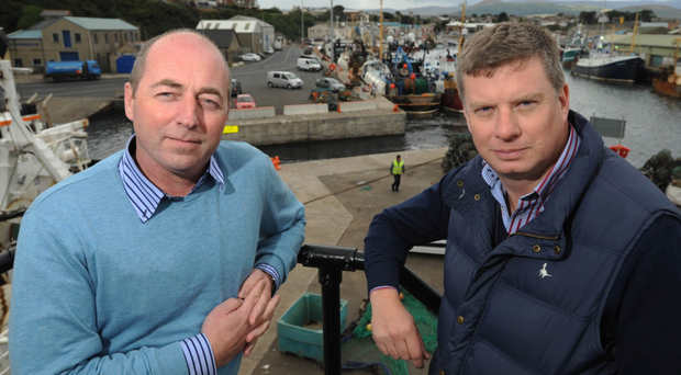 David Hill (left) and Alan McCulla of Kilkeel-based Sea-Source and Sea-Source Offshore