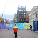 The Bank Buildings fire was a major blow to trade in Belfast