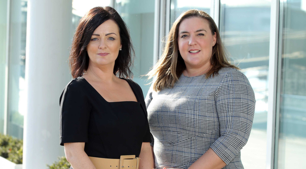 Ulster Bank Business Growth Enablers, Cara Taylor and Lisa McCaul who will host the Ulster Bank Boost Time to Grow events as part of Global Entrepreneurship Week