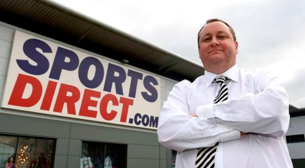 Shops tycoon: Mike Ashley