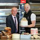 Ian Beatty (left), business acquisition manager at Danske Bank, and Ashley French, director at French Village Bakery