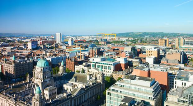Belfast's developing cityscape