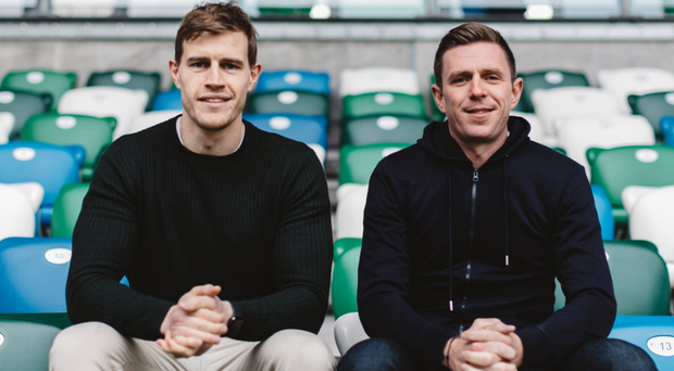 Andrew Trimble and Gareth Quinn have said they hope to recruit at least 15 peopleto their company in 2019