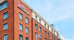 The Hilton Garden Inn in Dublin was one of a group of Hilton hotels acquired by LRC Group