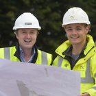 Jim Burke, acquisitions and sales director, Hagan Homes and Conor Mallon, site manager, Nollam Contracts