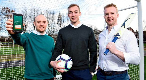 Pitchbooking founders Shea O'Hagan, Chris McCann and Fearghal Campbell
