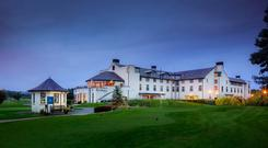 The Hilton Hotel in Templepatrick includes an 18-hole golf course