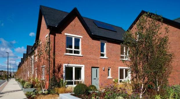 One of Cairn Homes' new housing developments in the Republic