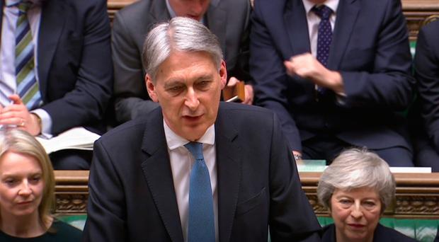 Hammond talks up United Kingdom economy despite Brexit 'cloud'