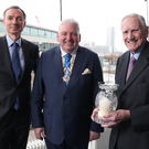 From left: Barry Dempsey, Feargal McCormack and Sir Desmond Lorimer