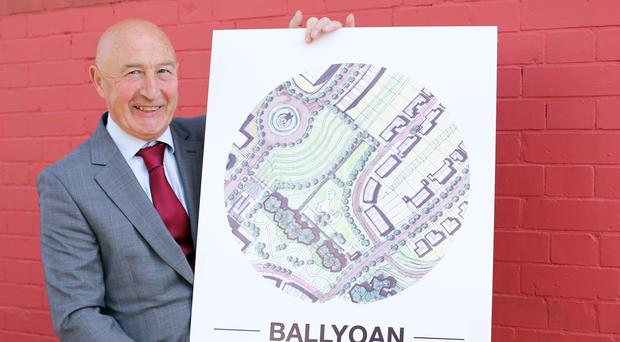 South Bank Square's Seamus Gillan is behind the plans for Ballyoan
