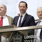 From left, chief innovation officer Ryan Keeling, chief financial officer Philip White and CEO Peter Keeling