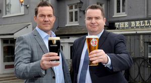 Wolf Inns managing director Andrew Gedge (left) and Andy Tew, Ulster Bank