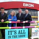 Launching the 2019 Balmoral Show are (from left) Cormac McKervey, Ulster Bank; Rhonda Geary, RUAS; Alan Crowe, RUAS; and Nigel Walsh, Ulster Bank