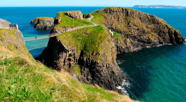 Carrick-a-Rede rope bridge, one of the north coast's key attractions