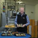 Milgro founder Gerald Miller on the family's Myroe farm outside Limavady