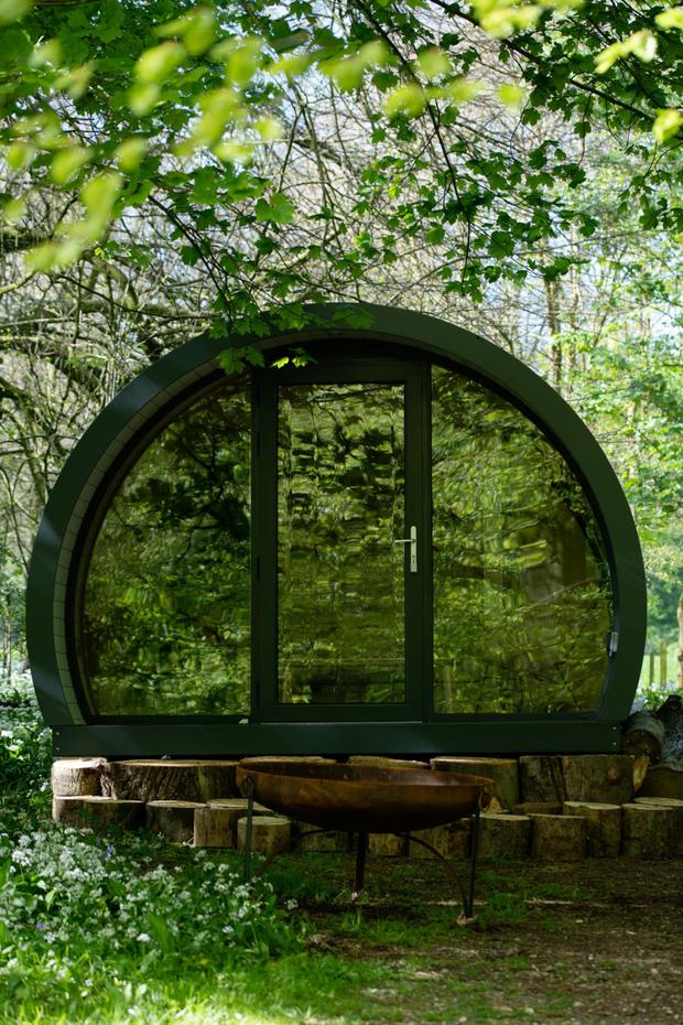 Glamping pod tourism is growing in Northern Ireland