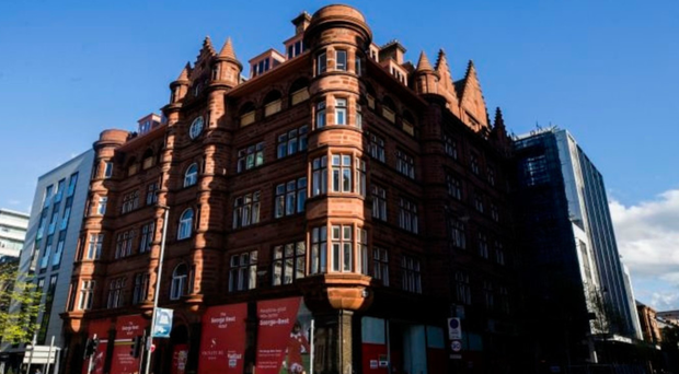 The Scottish Mutual Building on Donegall Square South, which Signature Living is proposing to turn into the George Best Hotel