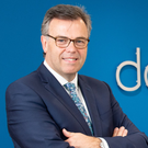 Alastair Hamilton, chief executive of Invest NI and James Dowds, managing director of Dowds Group