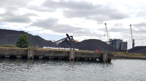 The LCC Group runs a major coal import operation from Belfast Harbour