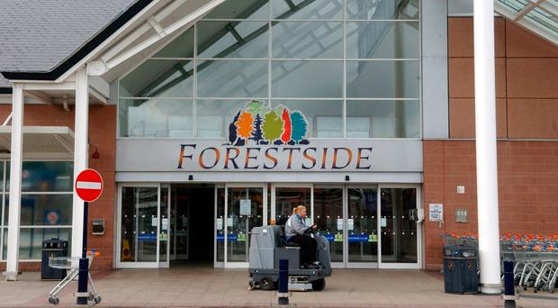 Forestside shopping centre in south Belfast
