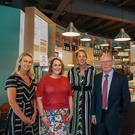 Pictured (L-R) at the opening of the new Loaf Café at the Ulster American Folk Park in Omagh are Diane Hill, Head of Business Development, NOW Group; Moira Doherty, Deputy Secretary Engaged Communities, Department for Communities; Kathryn Thomson, Chief Executive, National Museums NI and Miceal McCoy, Chairman, National Museums NI.