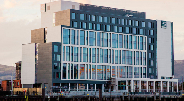 The AC Marriott Hotel at City Quays, Belfast