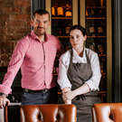 Balloo Inns managing director Ronan Sweeney with executive head chef Danni Barry