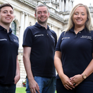 Ulster Bank's Belfast Accelerator team (from left) Matthew Teague, John Ferris, Lynsey Cunningham and Gabi Burnside