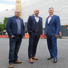 OKTO technical manager Gary Byrne, managing director Philip Dowds and business development manager, Corin Hawthorne