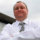 Sports Direct owner Mike Ashley saw his company's shares fall sharply