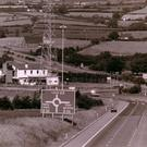 An aerial shot of Corr's Corner taken more than 20 years ago