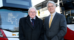 Co-founder Sir William Wright and Mark Nodder, who recently left the firm