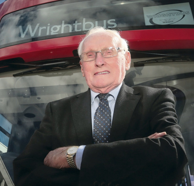 The Wrightbus co-founder Sir William Wright